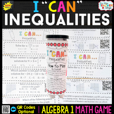Algebra 1 Linear Inequalities and Systems of Inequalities Game