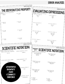 Algebra 1 Intervention Program : Simplifying Expressions Unit