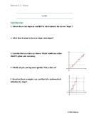Algebra 1 Lessons