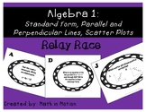 Algebra 1 Linear Equation Relay Race