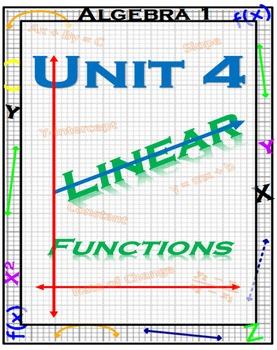Algebra 1 - Linear Equations - Complete Unit
