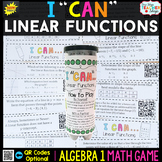 Algebra 1 Linear Functions Game