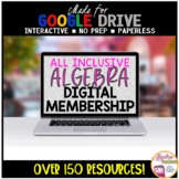 Algebra 1 Distance Learning ALL INCLUSIVE Digital Resource