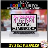 Algebra 1 Distance Learning ALL INCLUSIVE Digital Resource