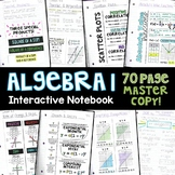 Algebra 1 Math Interactive Notebook 70 Pages - High School & Middle School Math