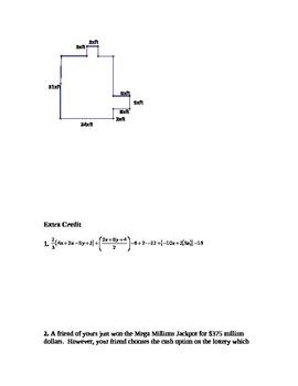 Algebra 1 Midterm