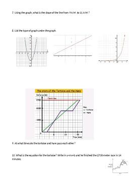 Algebra 1 Module 1 Lesson 1-5 Test