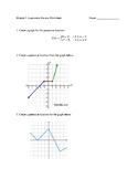 Algebra 1 Module 3 Review