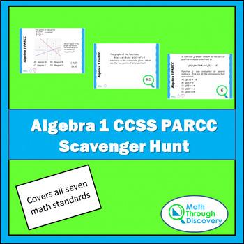 Algebra 1 Parcc Worksheets & Teaching Resources | TpT