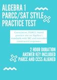 Algebra 1 PARCC Practice Test