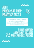 Algebra 1 PARCC/SAT Practice Test #3