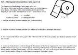 Algebra 1 Performance Task Toilet Paper Dimensions (Common Core)