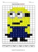 Algebra Coloring Activity Pixel Art (Bundle)