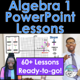 Algebra 1 PowerPoint Presentation Bundle (Distance Learning)