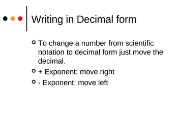 Algebra 1 PowerPoints - Exponents
