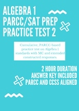 Algebra 1 Practice PARCC Test #2