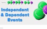 "Algebra 1: (Probability&Statistics.4) ""In/Dependent Events"" Prezi/iPad Lesson"