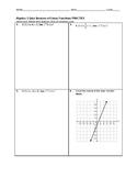 Algebra 1 Quiz - Inverses of Linear Functions BUNDLE