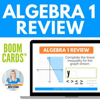 Algebra 1 Review Boom Cards