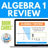 Algebra 1 Review Boom Cards™ Digital Activity