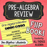Pre-Algebra Review Flip Book