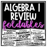 Algebra 1 Review Foldables
