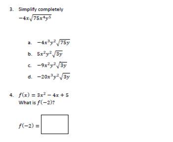Algebra 1 SOL Practice Sets