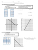 Algebra 1 STAAR Review #2: Graphing Linear Equations and I