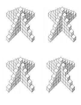 Algebra 1 Skeleton Tower Activity Image