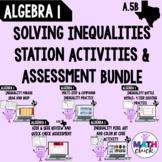 Algebra 1: Solve Inequalities BUNDLE A.5B