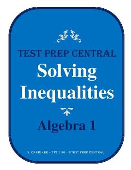 Algebra 1 - Solving Inequalities