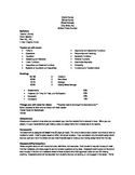 Algebra 1 Syllabus (Holt Algebra 1)