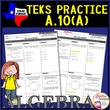 Algebra 1 TEKS Add And Subtract Polynomials