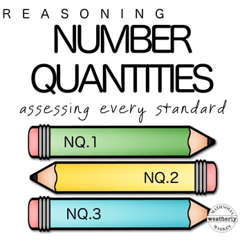 Number Quantities TEST PREP