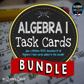 Algebra 1 Task Cards
