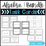Algebra 1 Task Cards {Growing Bundle}