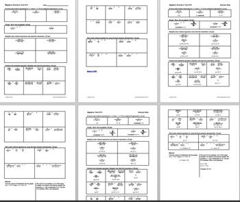 Algebra 1 Test #11: Rational Functions