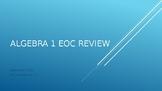 Algebra 1 Texas EOC Review