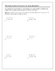 Algebra Tutorial & Worksheets: Classifying Systems of Equations