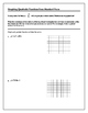 Algebra Tutorial & Worksheets: Graphing Quadratics from Standard Form