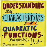 Algebra:  Understanding the Characteristics of Quadratic F