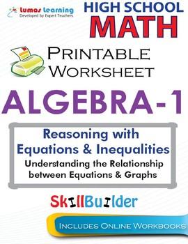 Algebra 1  Understanding the Relationship between Equations & Graphs