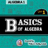 Algebra 1 Unit 1 {Basics of Algebra}