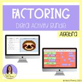 Algebra 1 Unit 11: Factoring Digital Activity Bundle