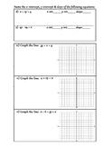 Algebra 1, Unit 2, Quiz 1, page 2