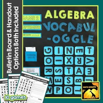 printable-algebra-games-solve- ...
