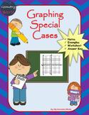 Algebra 1 Worksheet: Graphing Special Cases