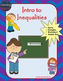 Algebra 1 Worksheet: Intro to Inequalities