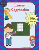 Algebra 1 Worksheet: Linear Regression