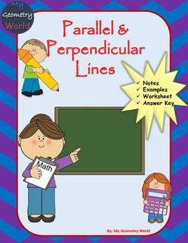 Algebra 1 Worksheet: Parallel & Perpendicular Lines
